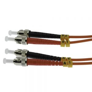 7m Fiber Optic Jumpers 62.5/125 Multimode Duplex ST-ST
