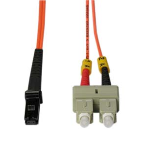 5m Fiber Optic Jumpers 50/125 Multimode Duplex MTRJ-SC
