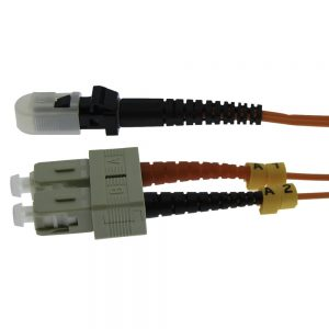 3m Fiber Optic Jumpers 62.5/125 Multimode Duplex MTRJ-SC