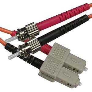 7m Fiber Optic Jumpers 50/125 Multimode Duplex SC-ST