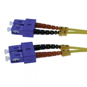 7m Fiber Optic Jumpers 9/125 Singlemode Duplex SC-SC