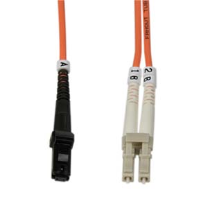 2m Fiber Optic Jumpers 50/125 Multimode Duplex MTRJ-LC