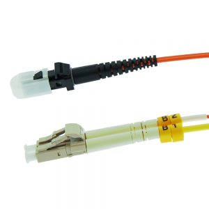 7m Fiber Optic Jumpers 62.5/125 Multimode Duplex MTRJ-LC