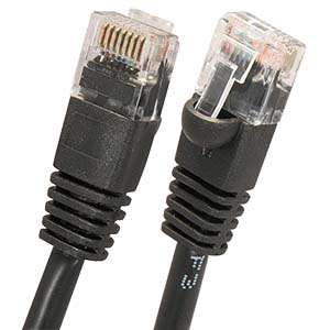 CAT 6 Black Patch Cable