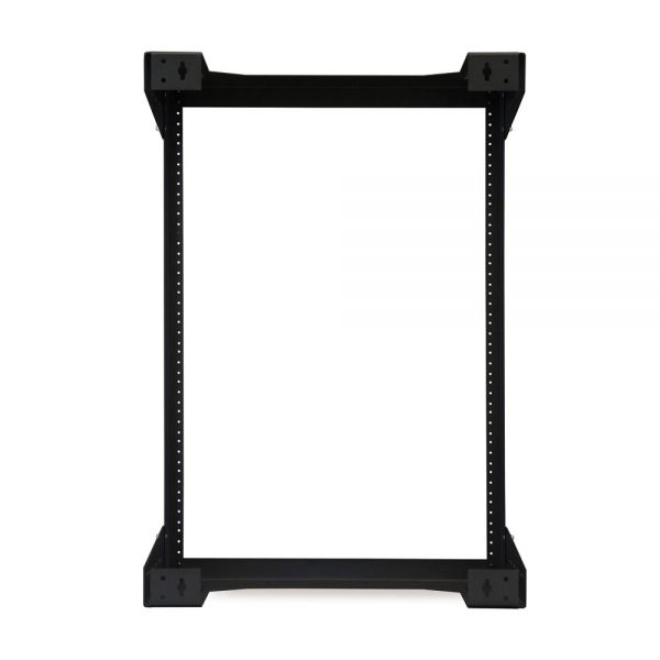 "15U 18"" Deep Open Frame Wall Rack back"