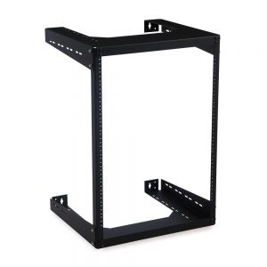 "15U 18"" Deep Open Frame Wall Rack isometric"