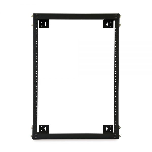 "15U 18"" Deep Open Frame Wall Rack front"