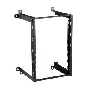 16U V-Line Wall Mount Rack - 18 Depth isometric