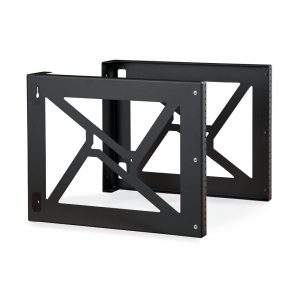 8U Wall Mount Rack dimetric