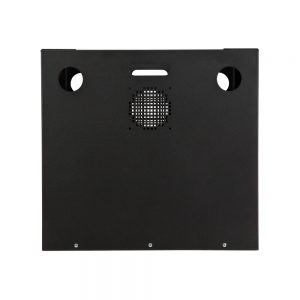 8U Security Wall Mount Cabinet - Underside View