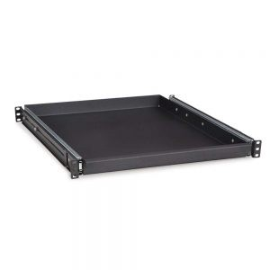 1U 20 Rack Mountable Sliding Shelf isometric2