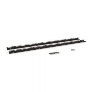 27U LINIER® Server Cabinet Vertical Rail Kit - Cage Nut