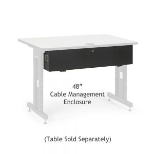 48 Training Table Cable Management Enclosure