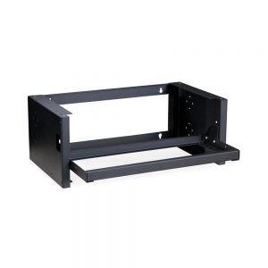 4U Pivot Frame Wall Mount Rack isometric open