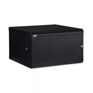 6U LINIER® Fixed Wall Mount Cabinet - Solid Door isometric