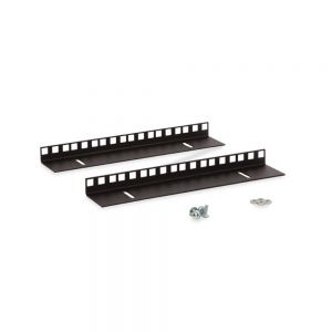 6U LINIER® Wall Mount Vertical Rail Kit - Cage Nut