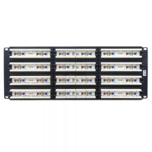 CAT 5E 96-Port Patch Panel Rackmount - Back View