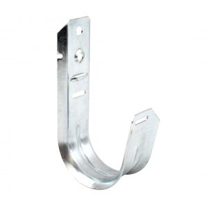 Universal 2 Inch J-Hook Wall Mount Cable Support - Close Up