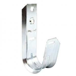 Universal 5-16 J-Hook Wall Mount Cable Support - Close Up