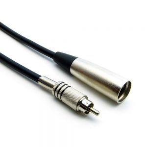 XLR to RCA Cables