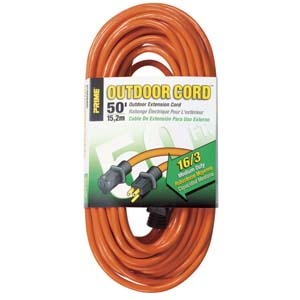 Outdoor Power Extension Cord