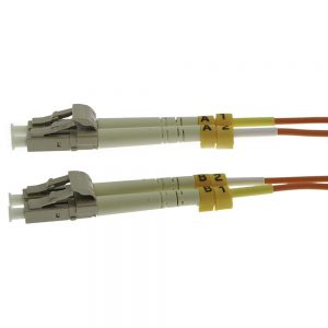 9m Fiber Optic Jumpers 62.5/125 Multimode Duplex LC-LC