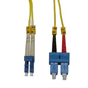 20m Fiber Optic Jumpers 9/125 Singlemode Duplex LC-SC