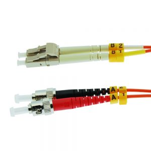 7m Fiber Optic Jumpers 62.5/125 Multimode Duplex LC-ST