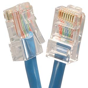 CAT.6 Blue Non Booted Patch Cable