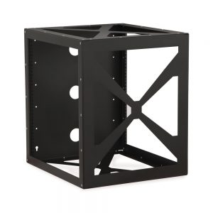 12U Side Load Wall Mount Rack isometric
