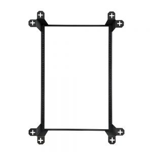 16U V-Line Wall Mount Rack - 18 Depth back