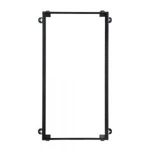 21U V-Line Wall Mount Rack - 12 Depth front