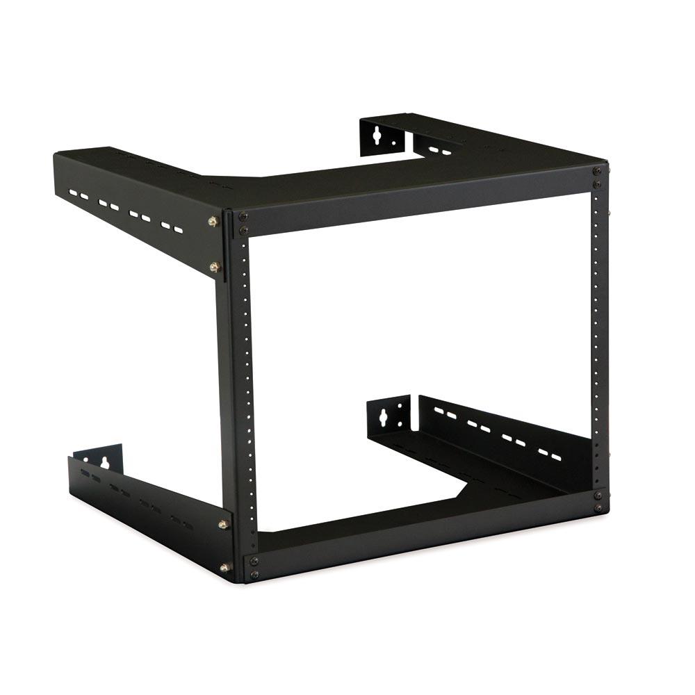 Kendall Howard Rack Wall mountable 19 2-Post 15U Black Open Frame