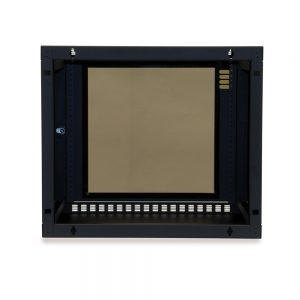 9U Shallow Depth Wall Cabinet back