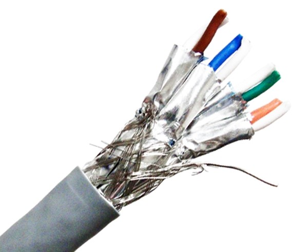 Wire-End CAT 7 Indoor Dual Shielded Cable