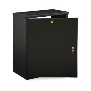 6U Enclosed V-Rack Cabinet opened
