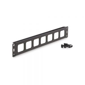 1U Cable Routing Blank - Dimetric View