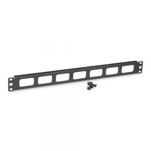 1U Cable Routing Blank - Isometric View