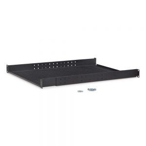 1U Vented 4-Point Adjustable Shelf isometric