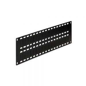 2U Flat Cable Lacing Panel - Dimetric View