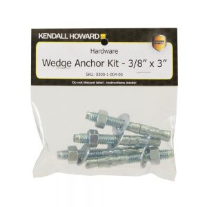 Wedge Anchor Kit - Packaging View