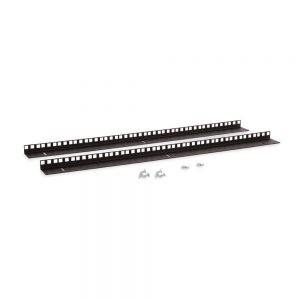 15U LINIER® Wall Mount Vertical Rail Kit - Cage Nut