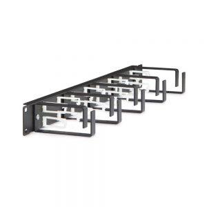 1U D-Ring Cable Management Kit dimetric