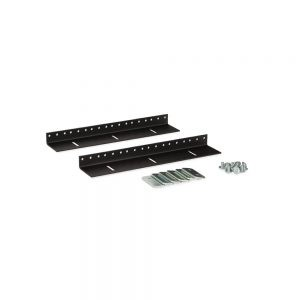 6U LINIER® Wall Mount Vertical Rail Kit - 10-32 Tapped