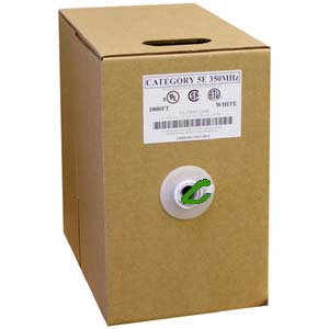 CAT 5E Green - 1000Ft Pull Box