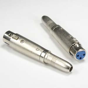 """XLR/1/4"""" Adapters"""