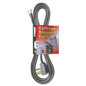Garbage Disposal Cord